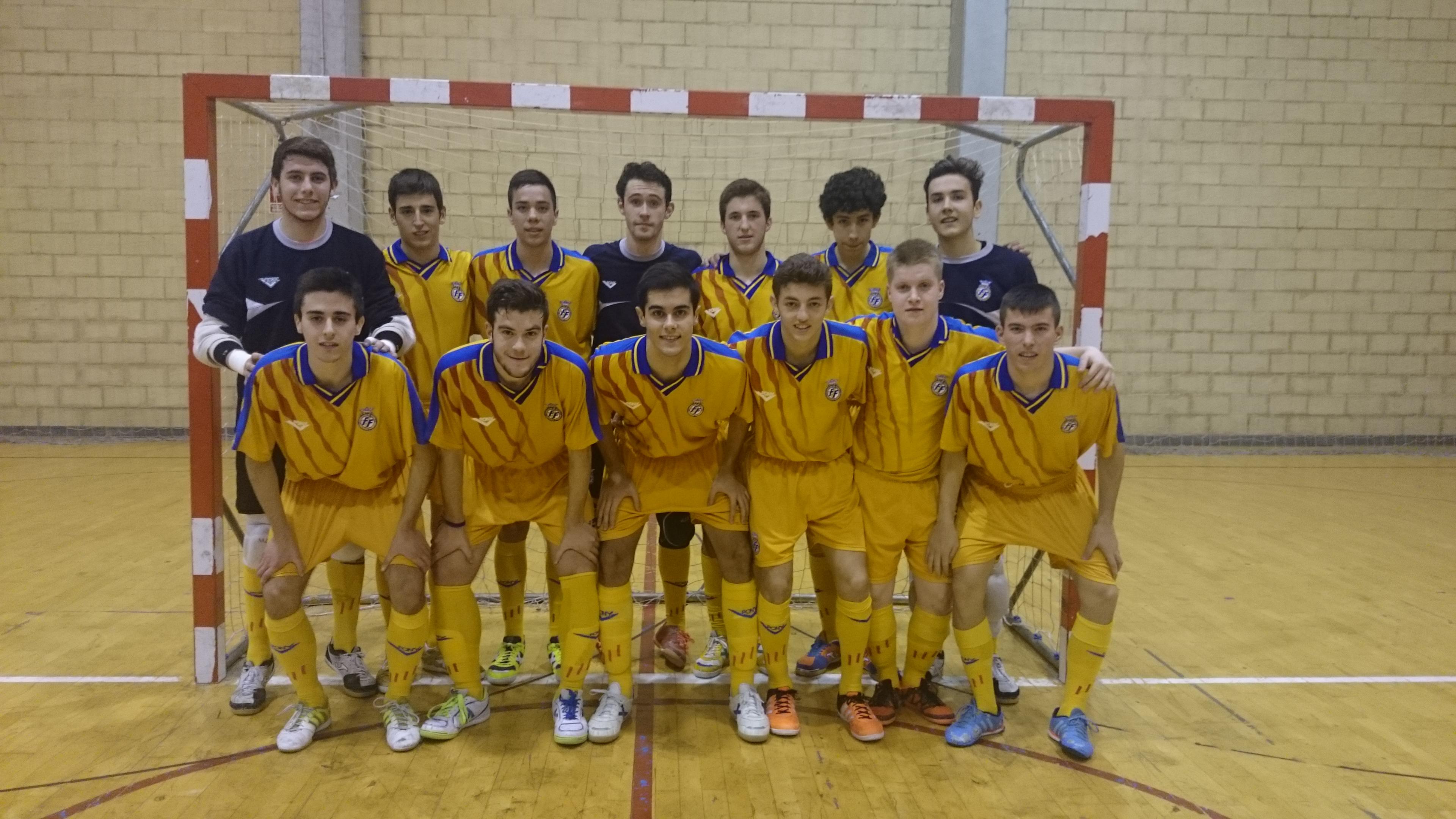 La selecci n valenciana lista para la fase del campeonato for Federacion valenciana de futbol