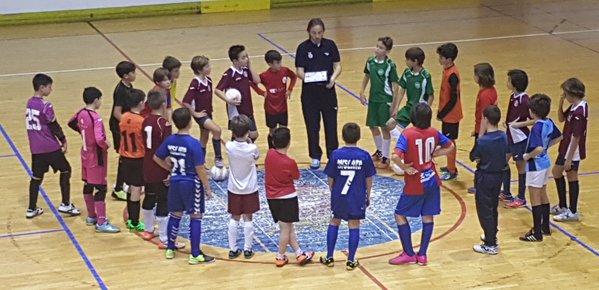 Encuentro amistoso para la selecci n alev n de f tbol sala for Federacion valenciana de futbol