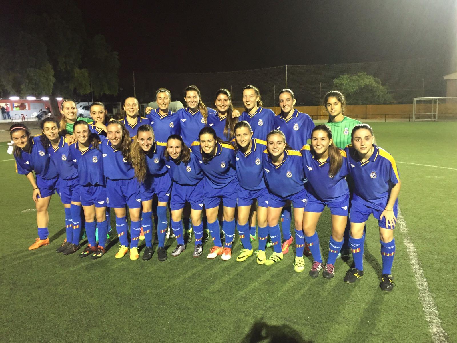 Convocatoria para la selecci n femenina sub 18 ffcv for Federacion valenciana de futbol