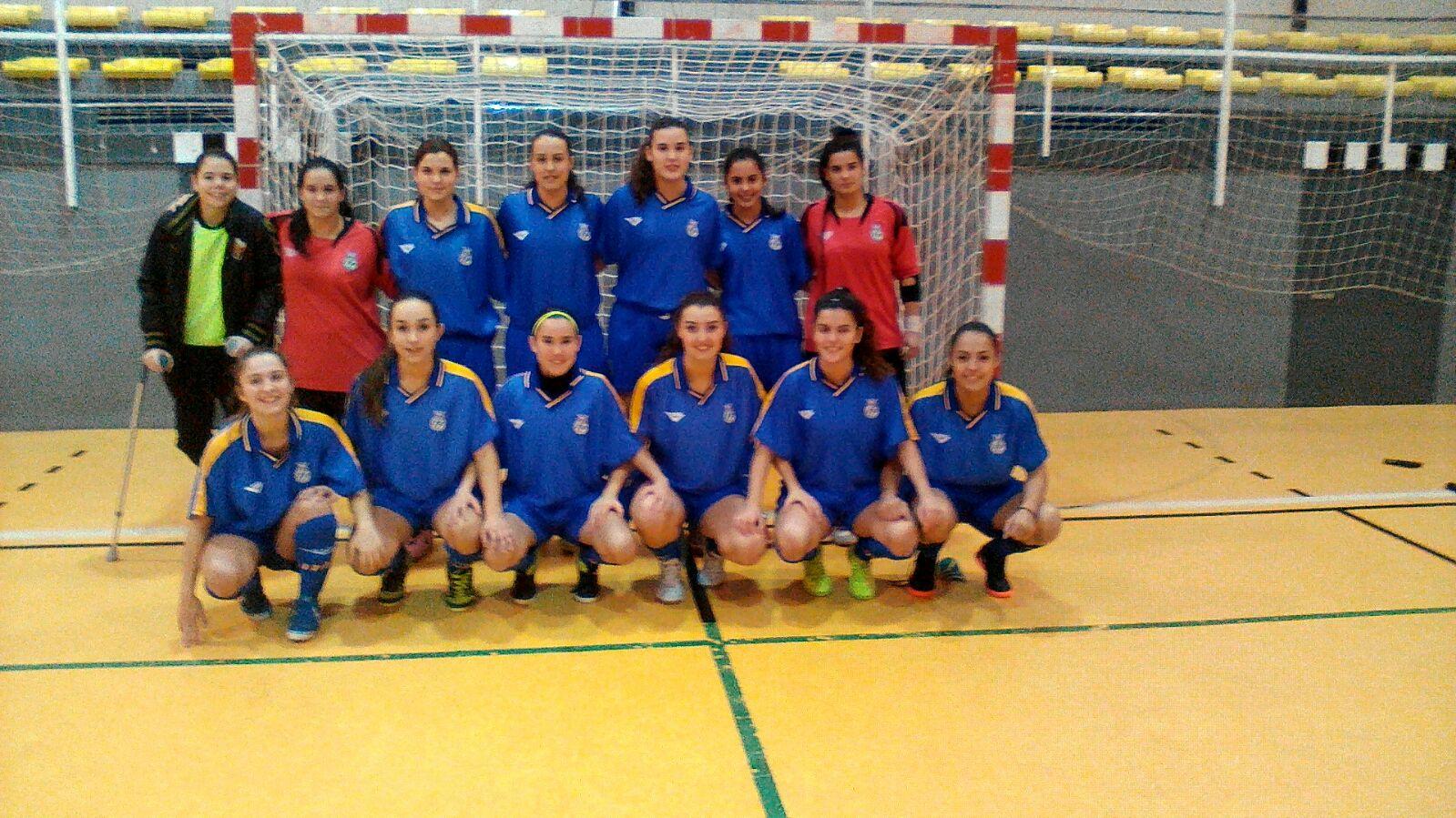 La selecci n sub 21 femenina de f tbol sala al campeonato for Federacion de futbol sala