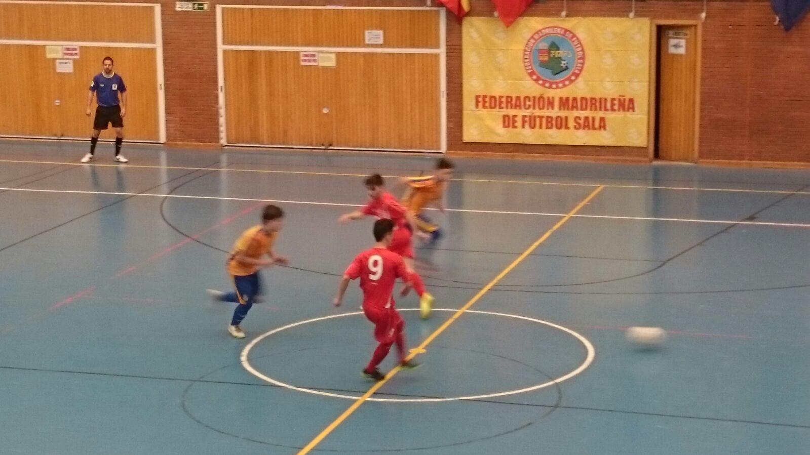 Nuevo entrenamiento para la selecci n infantil de f tbol for Federacion de futbol sala