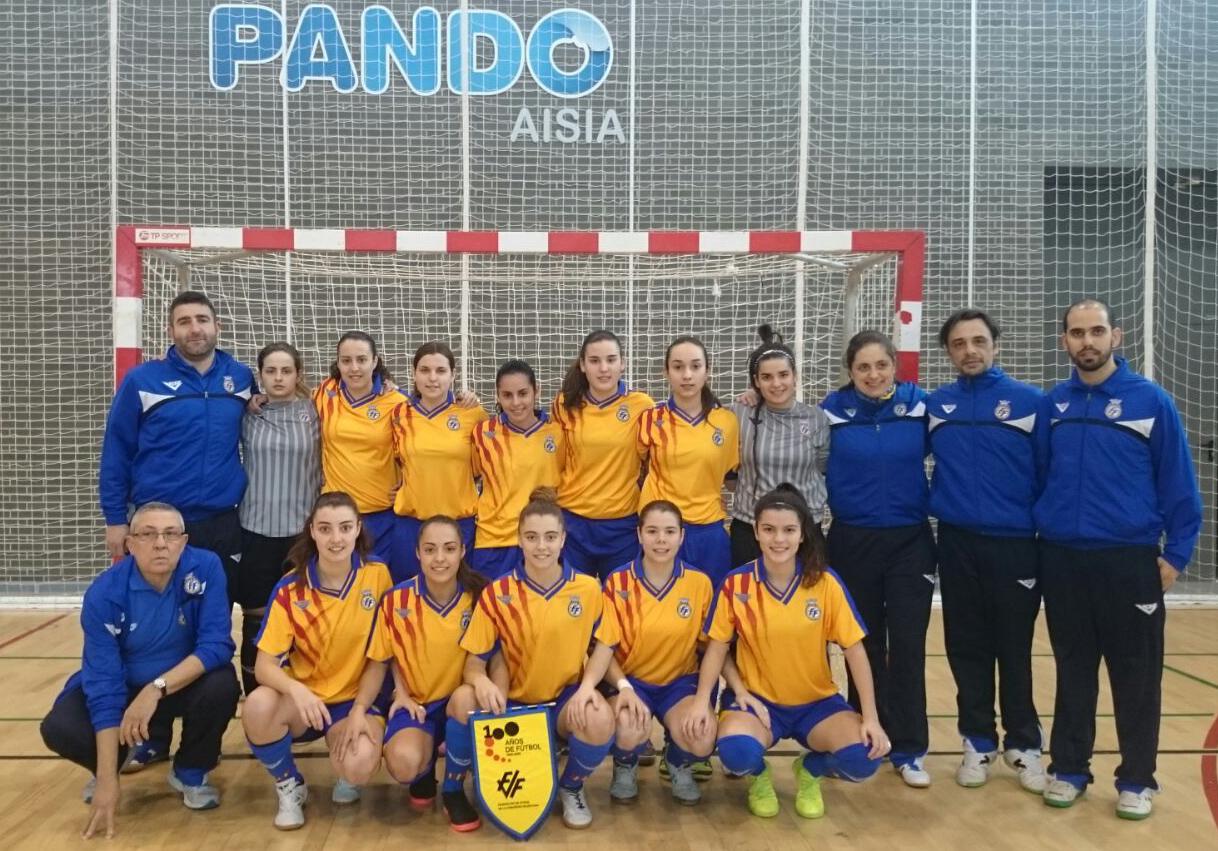 La selecci n femenina sub 21 de f tbol sala rumbo a for Federacion de futbol sala