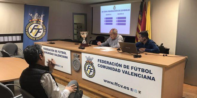 resultado del sorteo de la iii copa federaci n juvenil ffcv