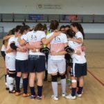 El UA Futbol Sala Femenino, antes de un partido