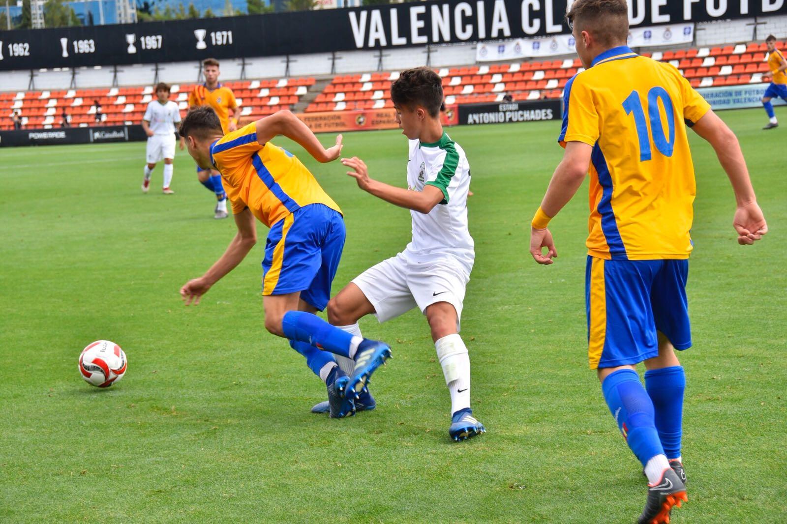 La selecci n valenciana pierde ante andaluc a en la for Federacion valenciana de futbol