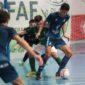José Ángel Lozano con la Selección Valenciana en Lepe (Huelva)